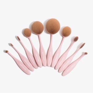 Vanity Planet Oval Makeup Brush Set
